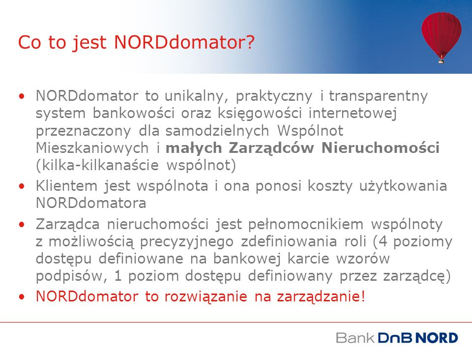 Co to jest NORDdomator