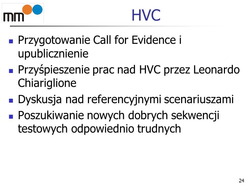 HVC Przygotowanie Call for Evidence i upublicznienie