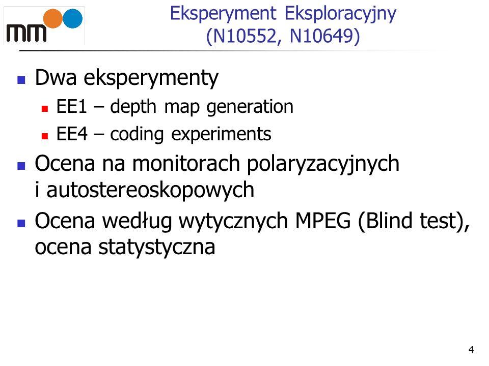 Eksperyment Eksploracyjny (N10552, N10649)