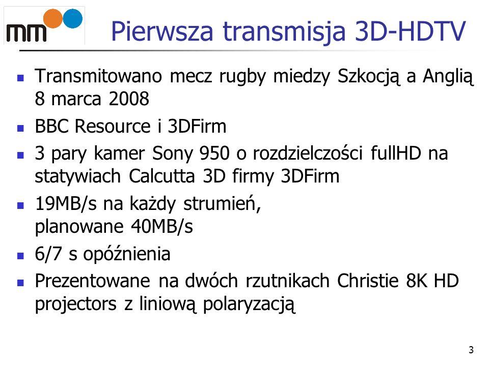 Pierwsza transmisja 3D-HDTV