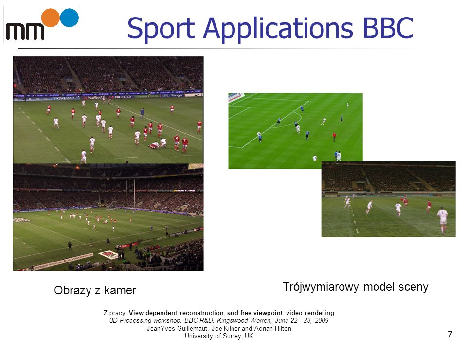 Sport Applications BBC