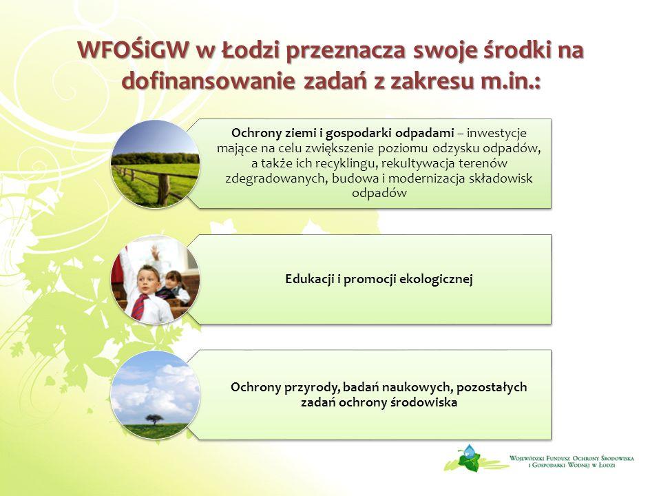 Edukacji i promocji ekologicznej