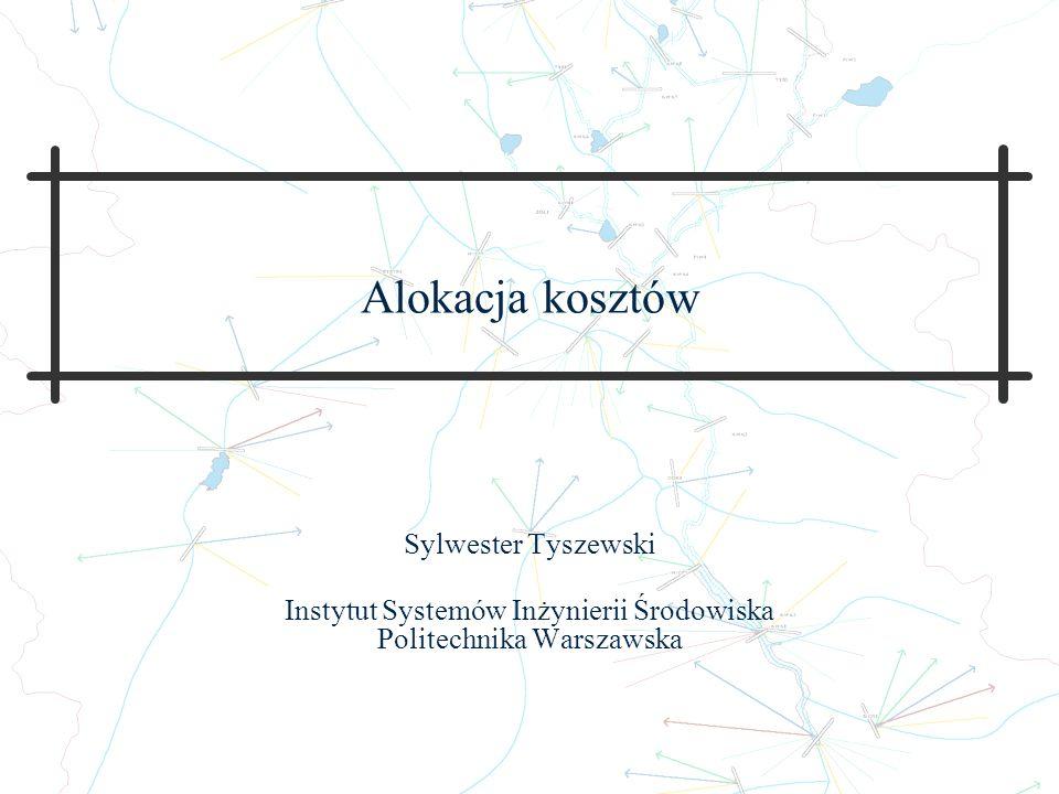 Instytut Systemów Inżynierii Środowiska Politechnika Warszawska
