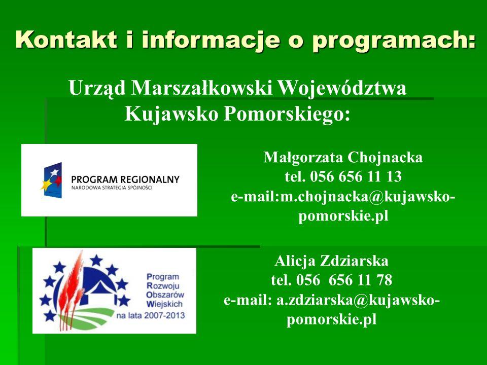 Urząd Marszałkowski Województwa Kujawsko Pomorskiego: