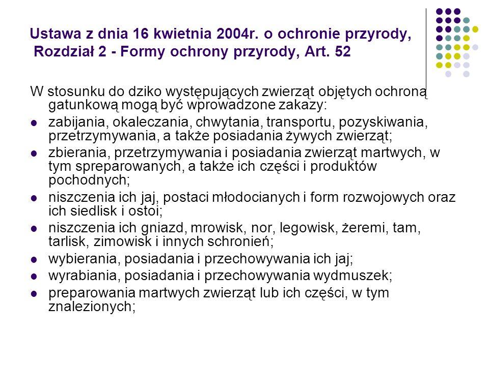 Ustawa z dnia 16 kwietnia 2004r