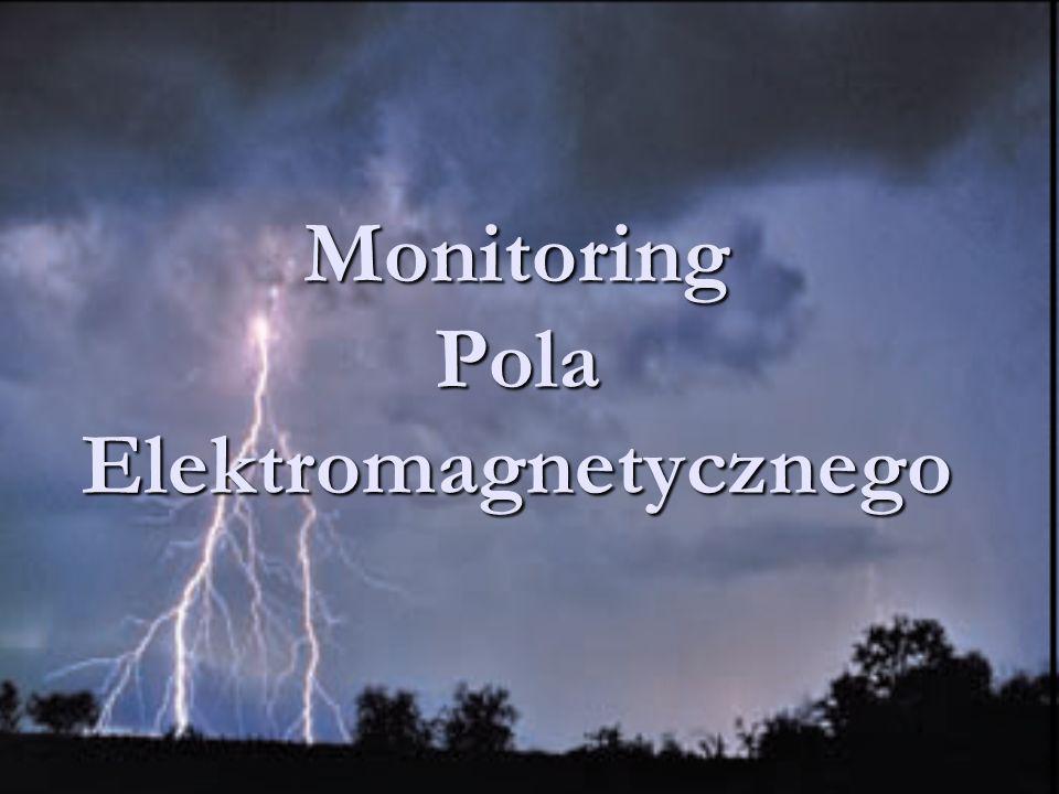 Monitoring Pola Elektromagnetycznego