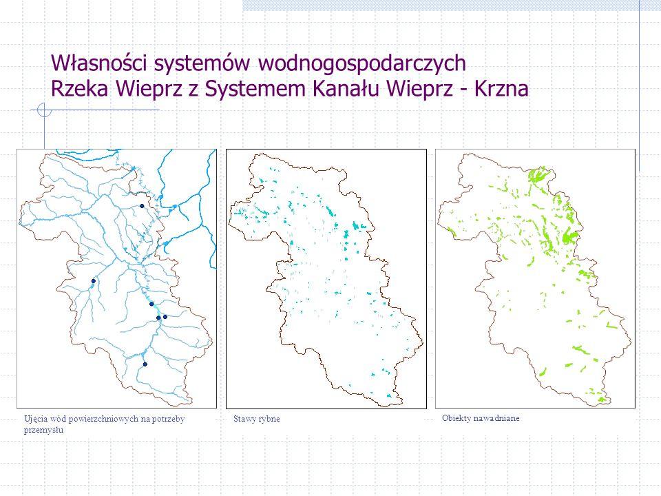 Własności systemów wodnogospodarczych Rzeka Wieprz z Systemem Kanału Wieprz - Krzna