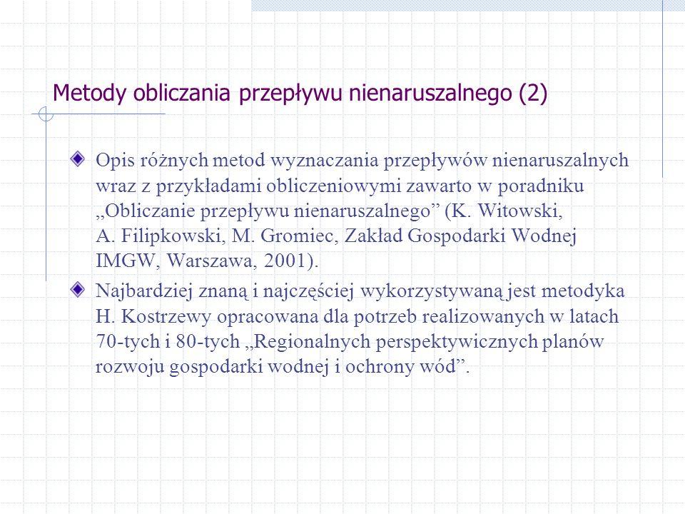 Metody obliczania przepływu nienaruszalnego (2)