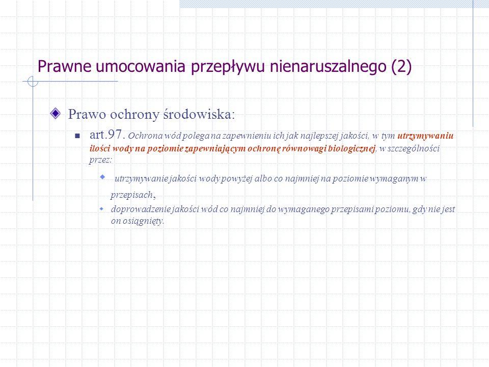 Prawne umocowania przepływu nienaruszalnego (2)