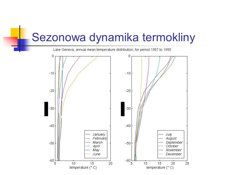 Sezonowa dynamika termokliny
