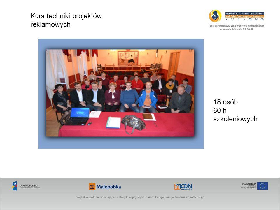 Kurs techniki projektów reklamowych