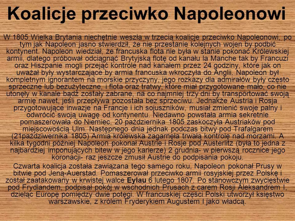 Koalicje przeciwko Napoleonowi