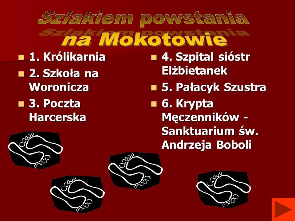 Szlakiem powstania na Mokotowie