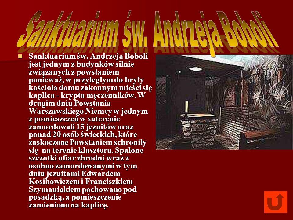 Sanktuarium św. Andrzeja Boboli