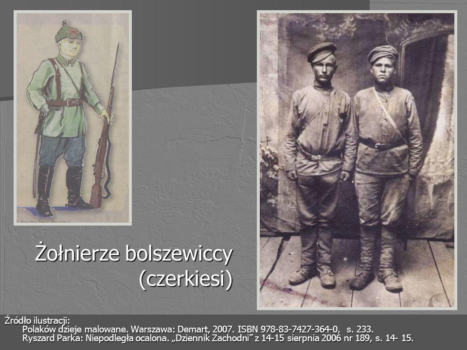 Żołnierze bolszewiccy (czerkiesi)