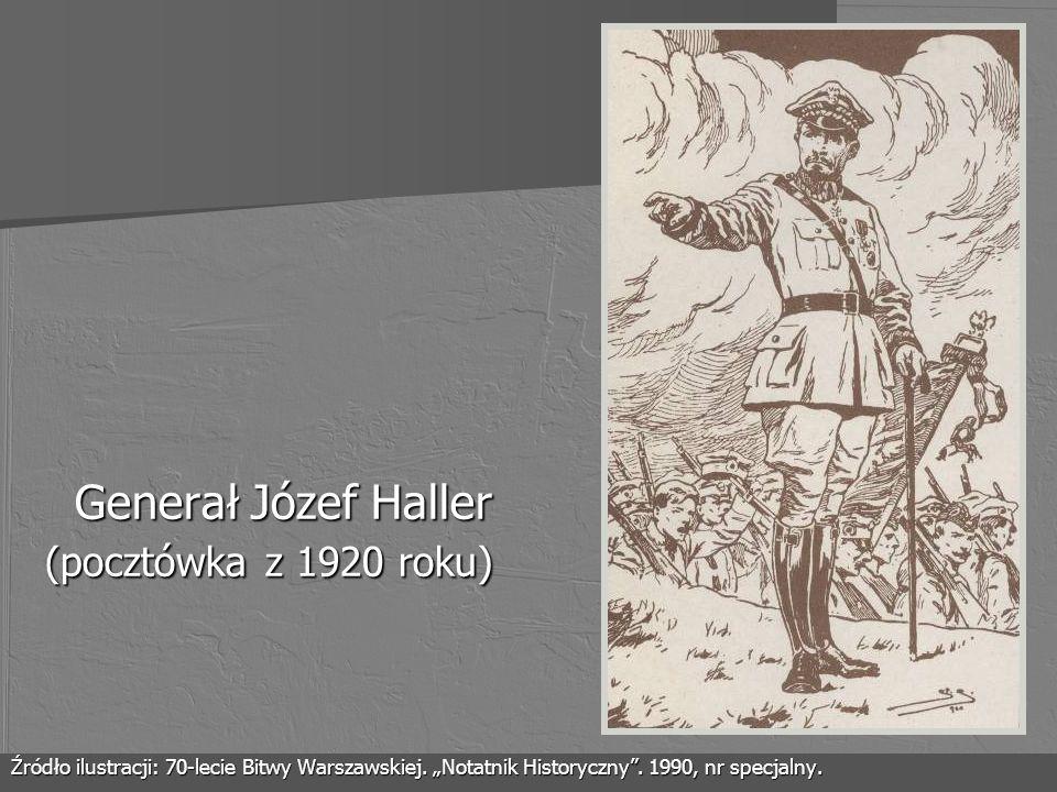 Generał Józef Haller (pocztówka z 1920 roku)