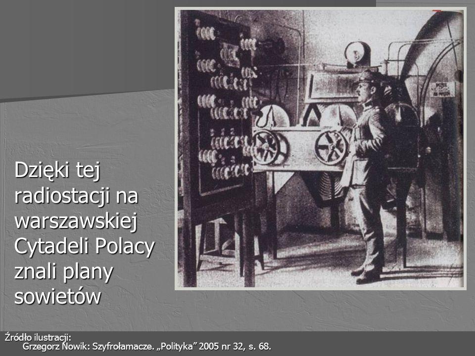 Dzięki tej radiostacji na warszawskiej Cytadeli Polacy znali plany sowietów