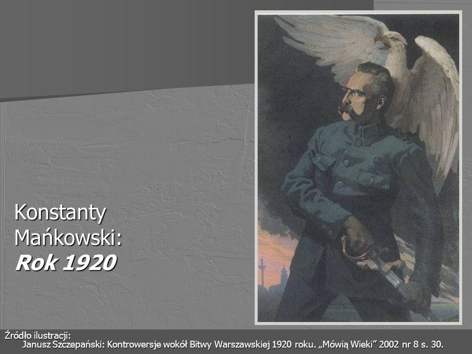 Konstanty Mańkowski: Rok 1920