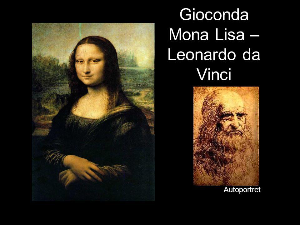 Gioconda Mona Lisa – Leonardo da Vinci