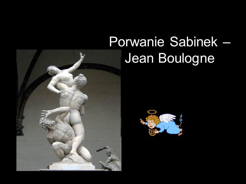 Porwanie Sabinek – Jean Boulogne