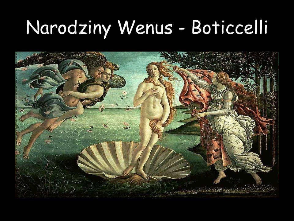 Narodziny Wenus - Boticcelli