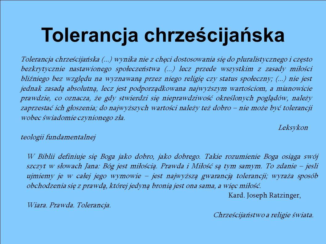 Tolerancja chrześcijańska