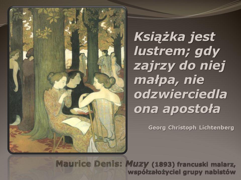 Książka jest lustrem; gdy zajrzy do niej małpa, nie odzwierciedla ona apostoła