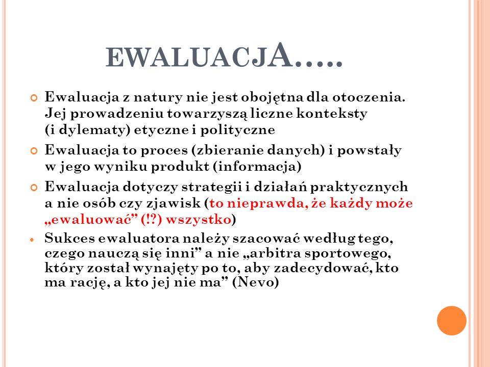 ewaluacjA…..