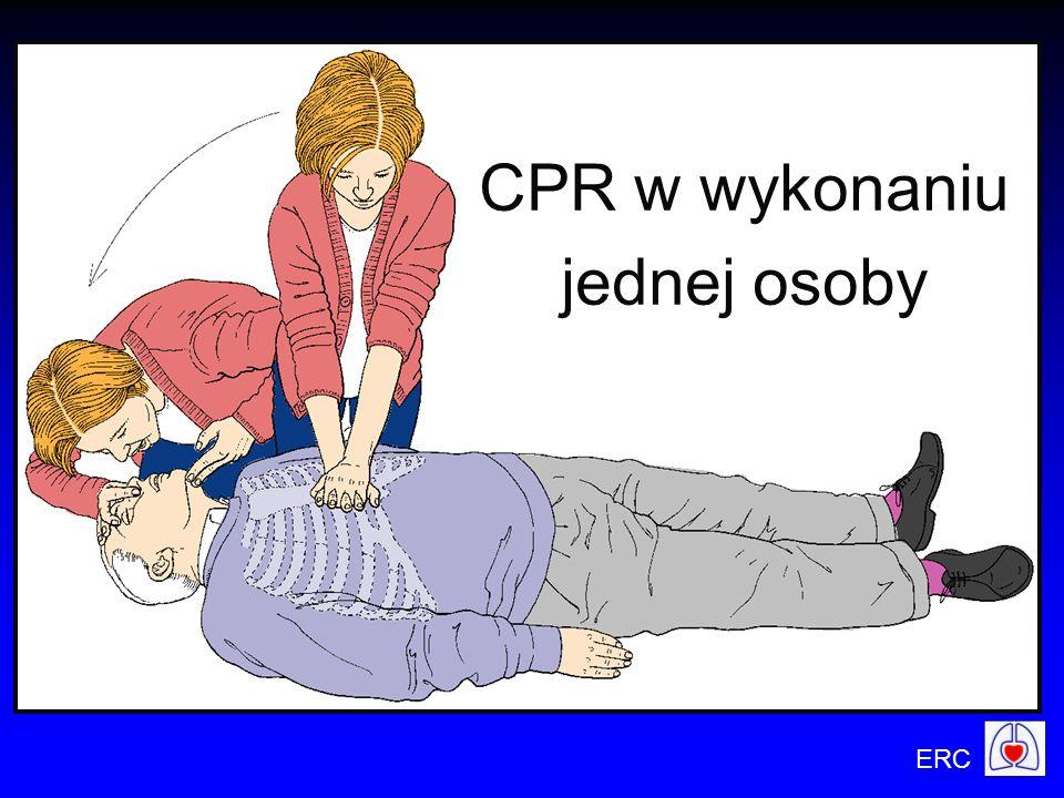 CPR w wykonaniu jednej osoby