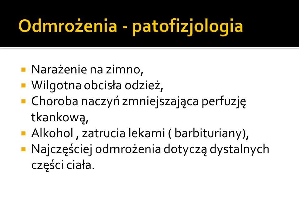 Odmrożenia - patofizjologia