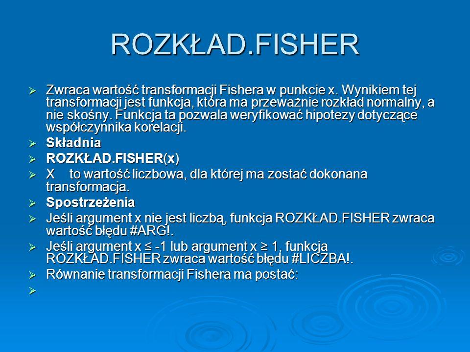 ROZKŁAD.FISHER