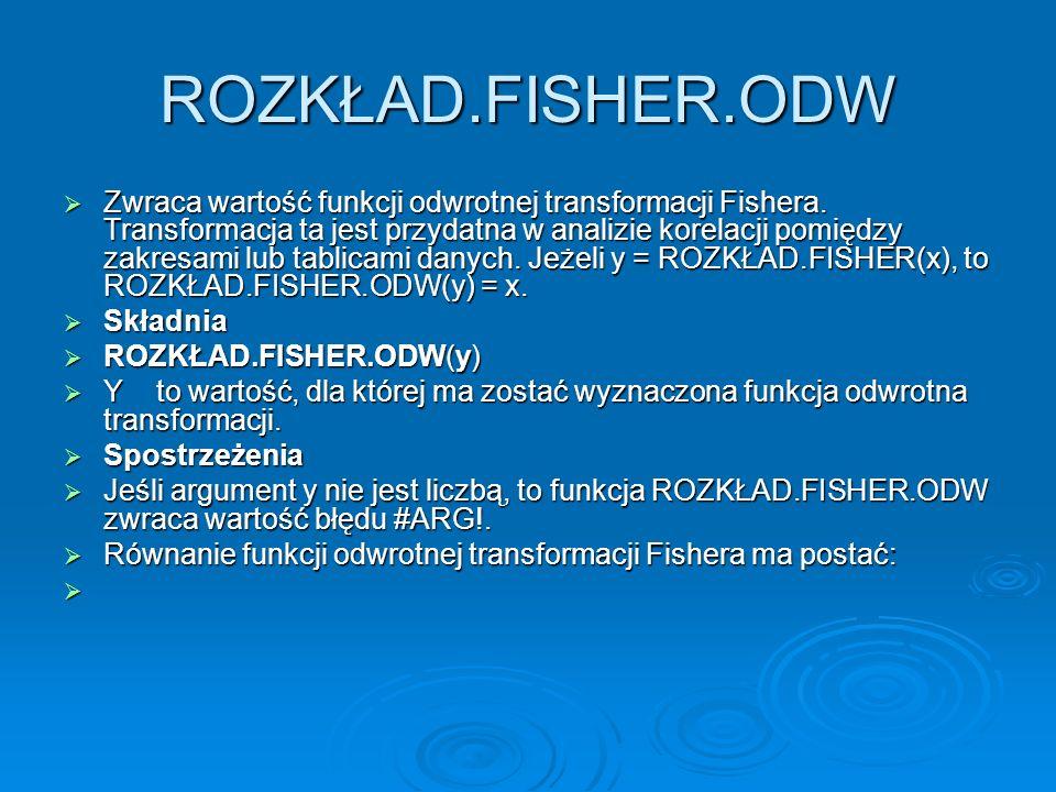 ROZKŁAD.FISHER.ODW