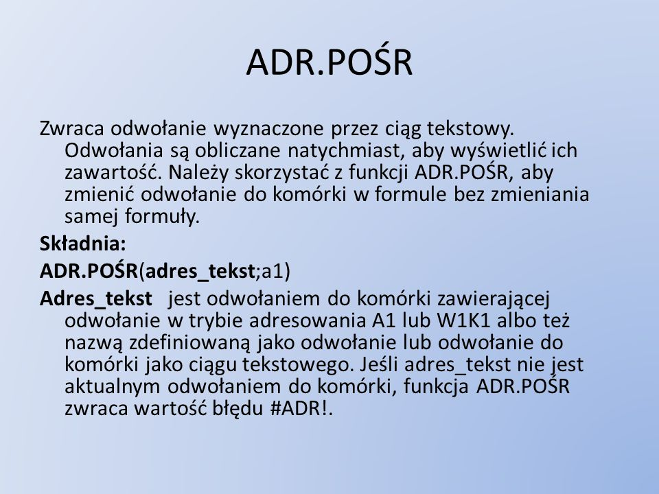 ADR.POŚR
