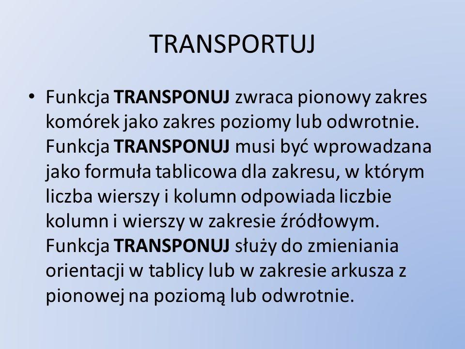 TRANSPORTUJ