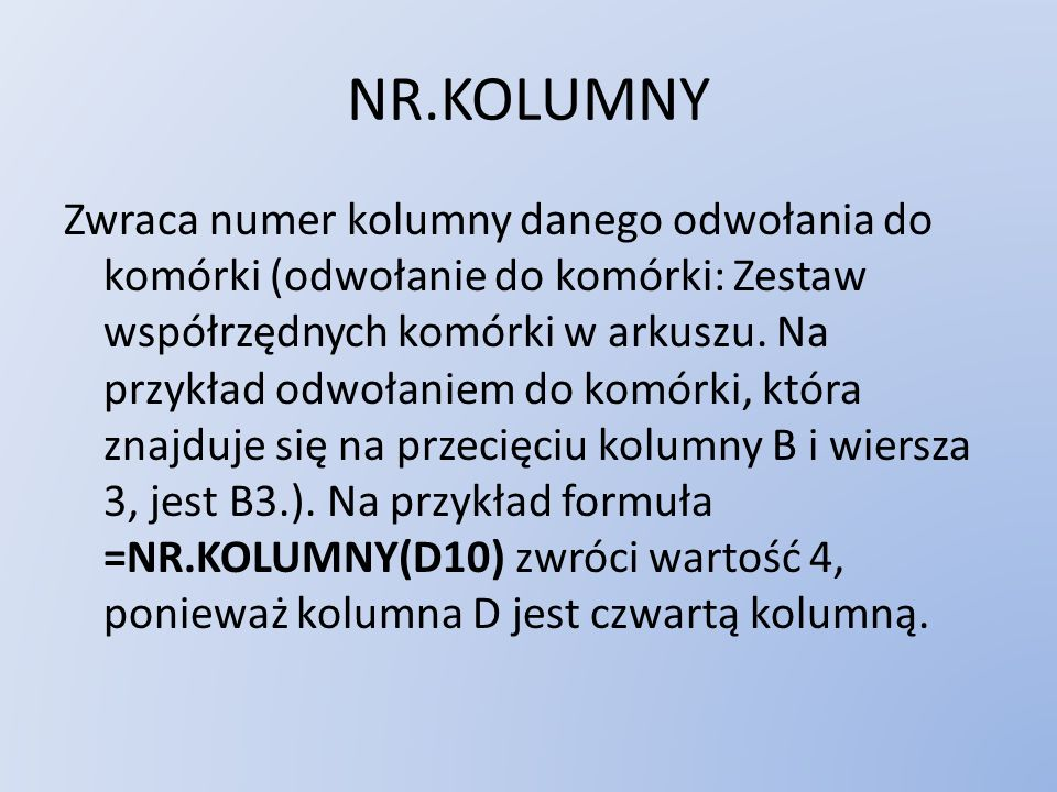 NR.KOLUMNY