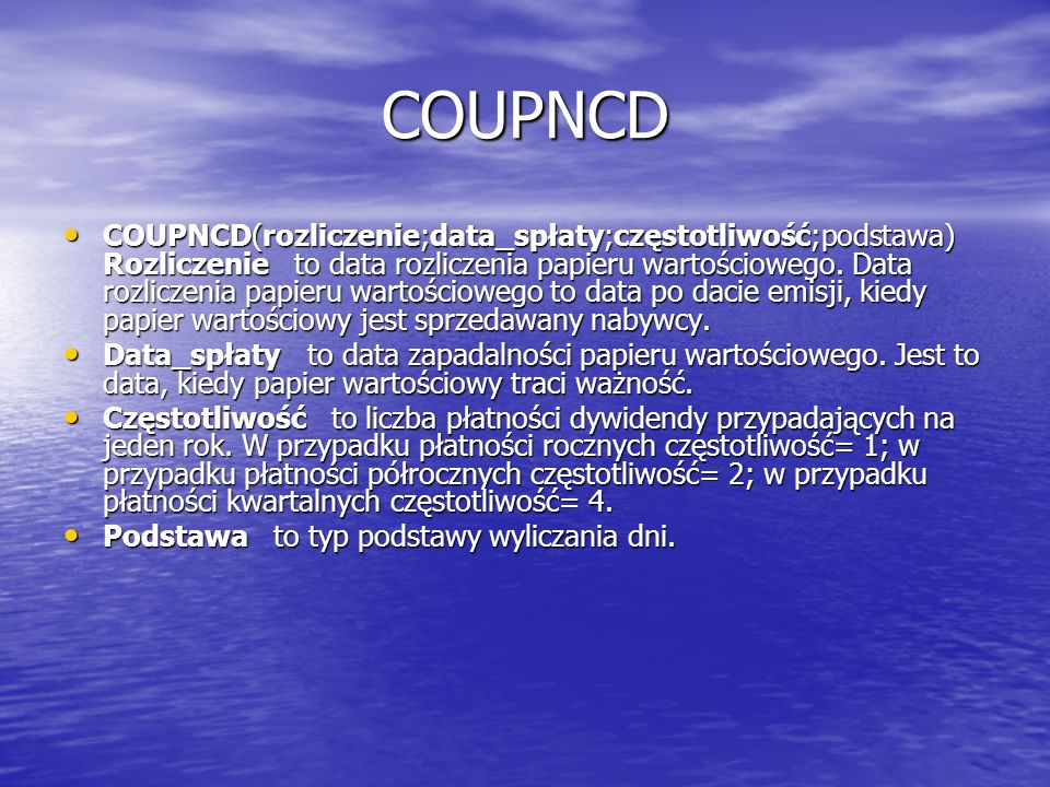 COUPNCD
