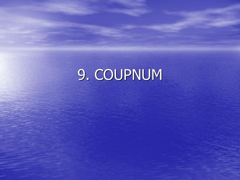 9. COUPNUM