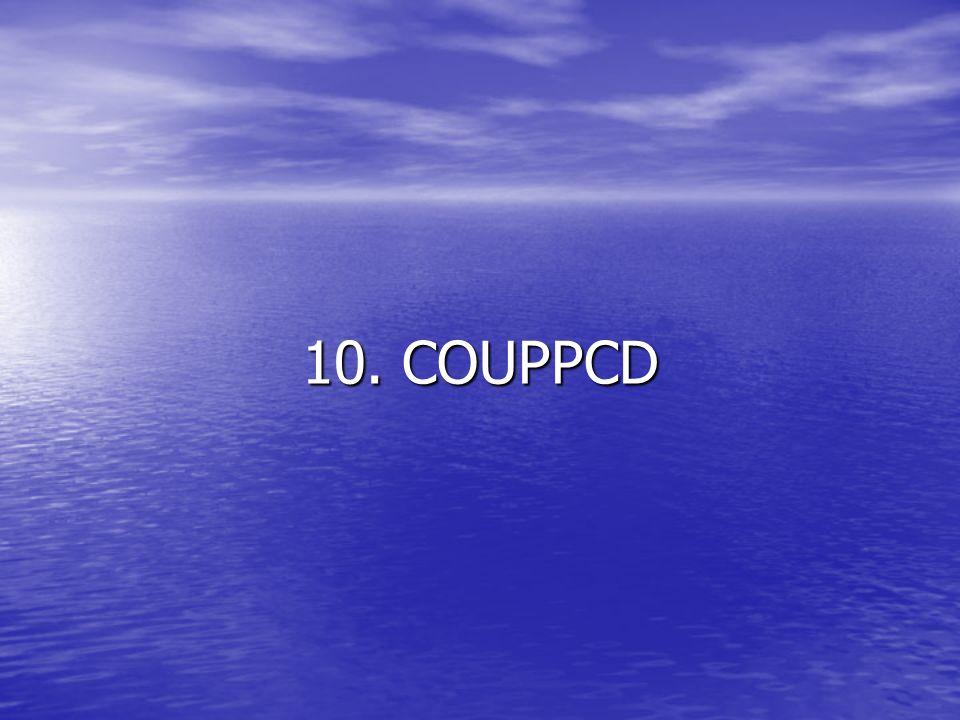 10. COUPPCD