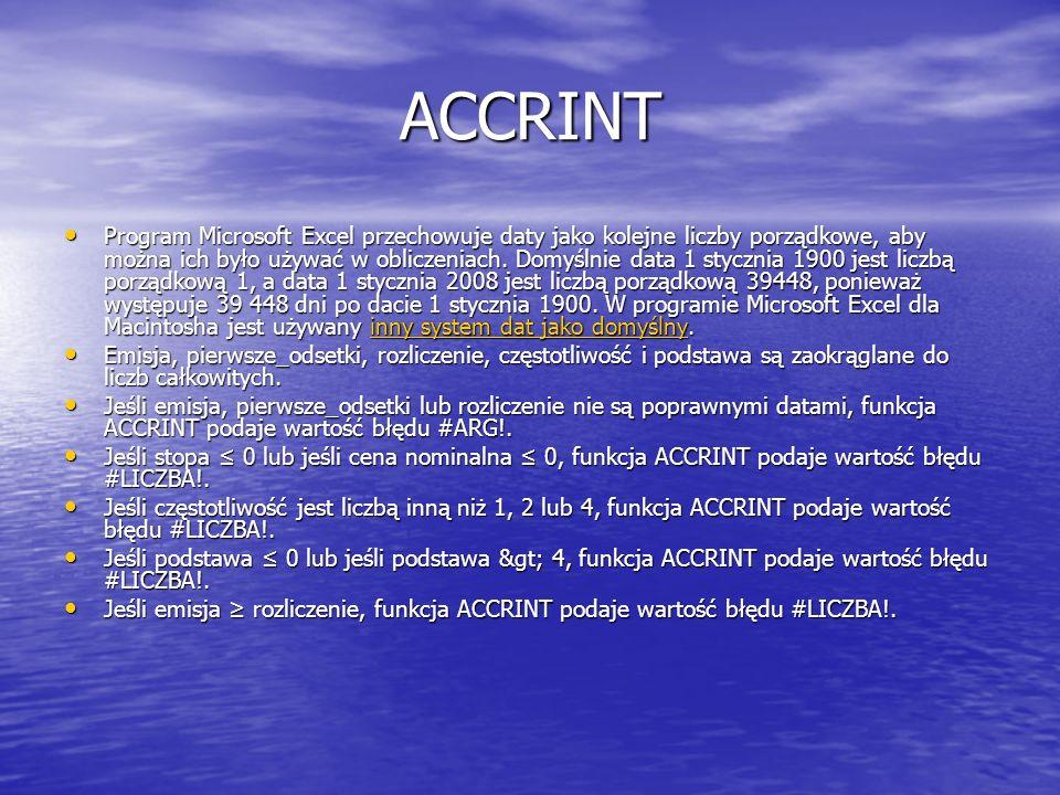 ACCRINT