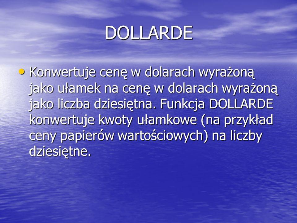DOLLARDE
