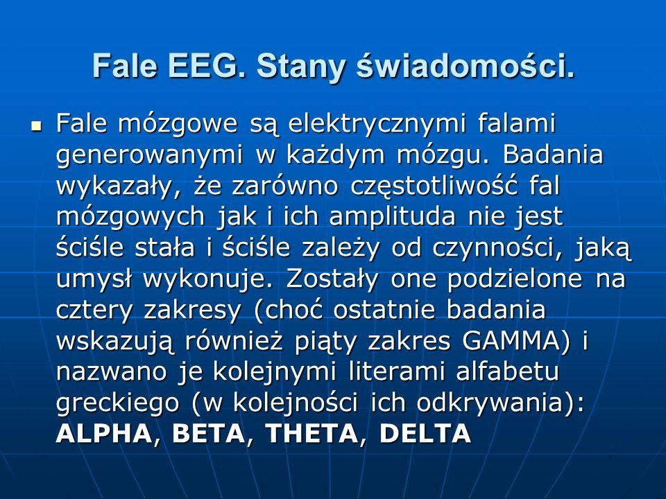 Fale EEG. Stany świadomości.