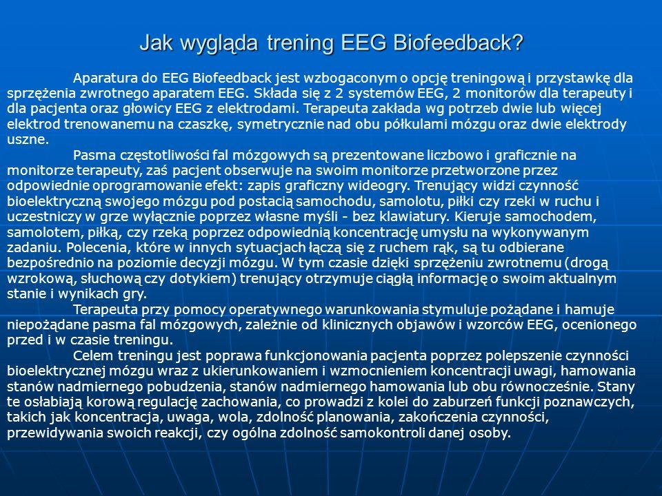 Jak wygląda trening EEG Biofeedback