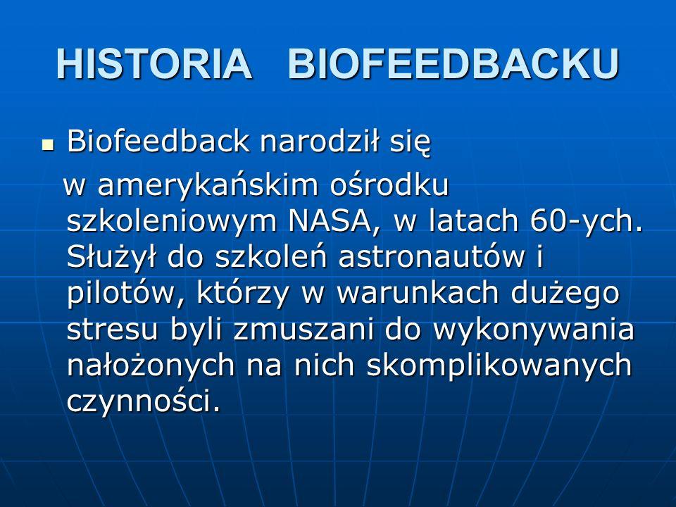HISTORIA BIOFEEDBACKU