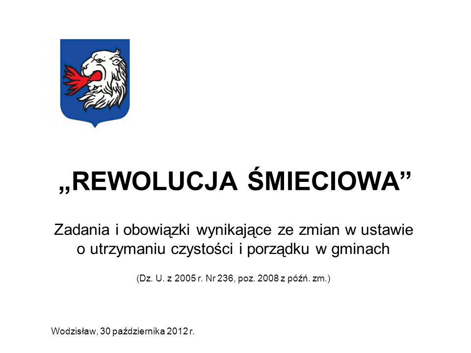 """""""REWOLUCJA ŚMIECIOWA"""