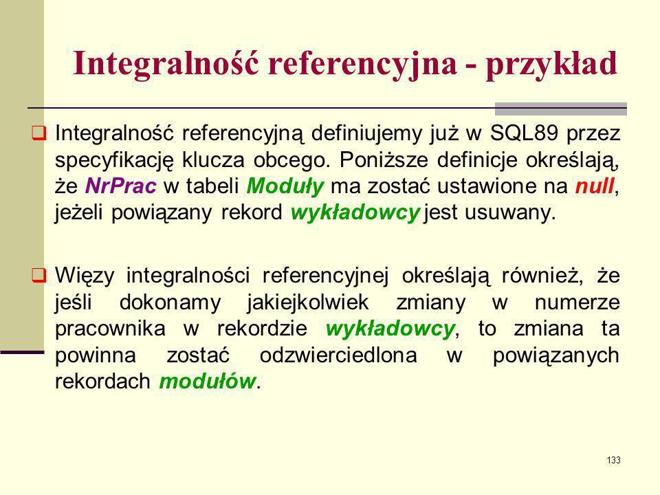 Integralność referencyjna - przykład