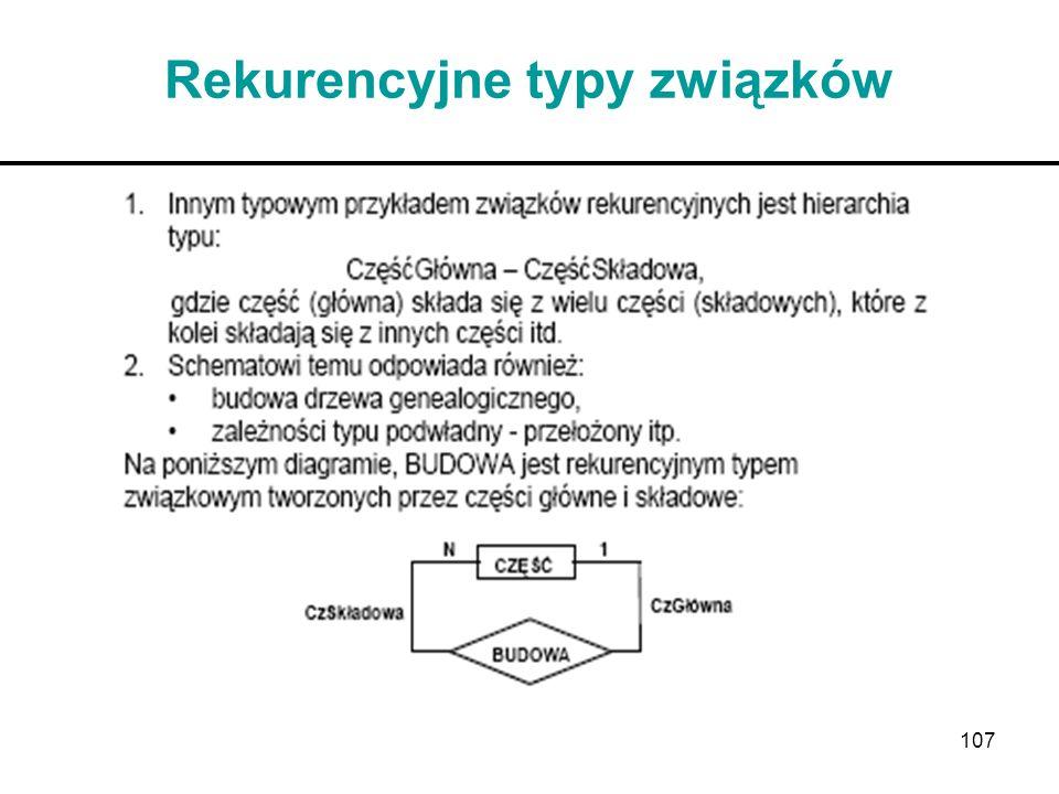 Rekurencyjne typy związków