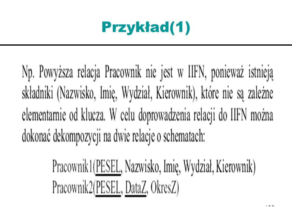 Przykład(1)