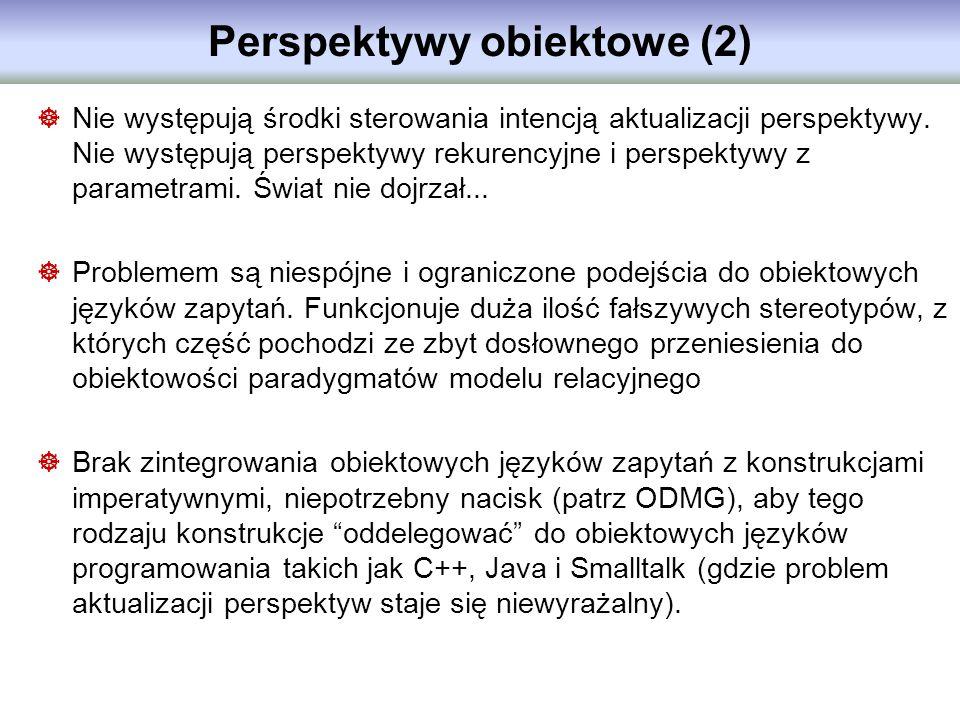Perspektywy obiektowe (2)