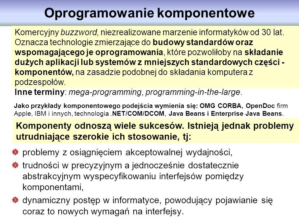Oprogramowanie komponentowe