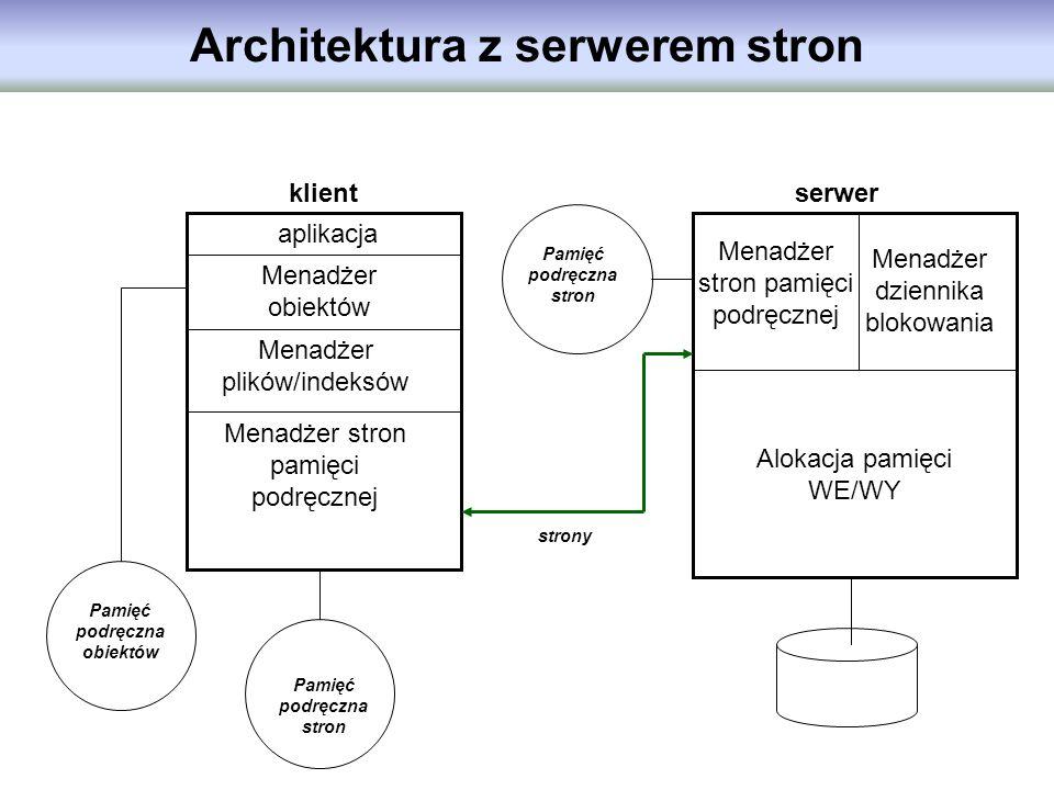 Architektura z serwerem stron